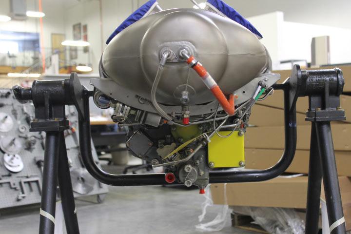 C20B Bell Jetranger engine